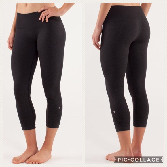 b4aa13feb lululemon athletica Pants - Lululemon Ebb   Flow Crop II Leggings